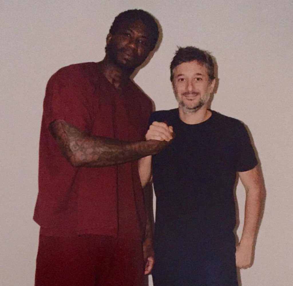 Harmony Korine visited #GucciMane in Prison! #FreeGucci #TheSpot Coming Soon! https://t.co/4dAz0rUM5N