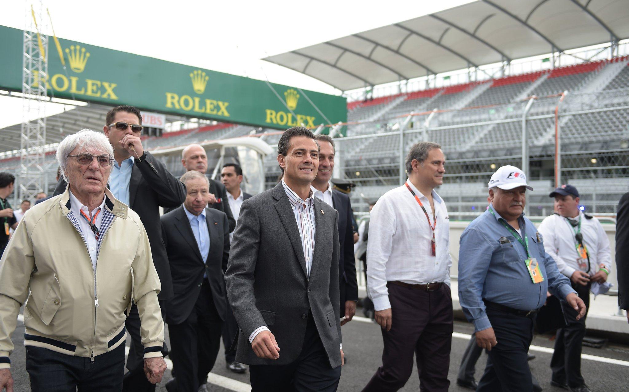 Recorrí el Autódromo Hermanos Rodríguez. Todo está listo para el Gran Premio de México #F1MX https://t.co/FMMXBQ49pz
