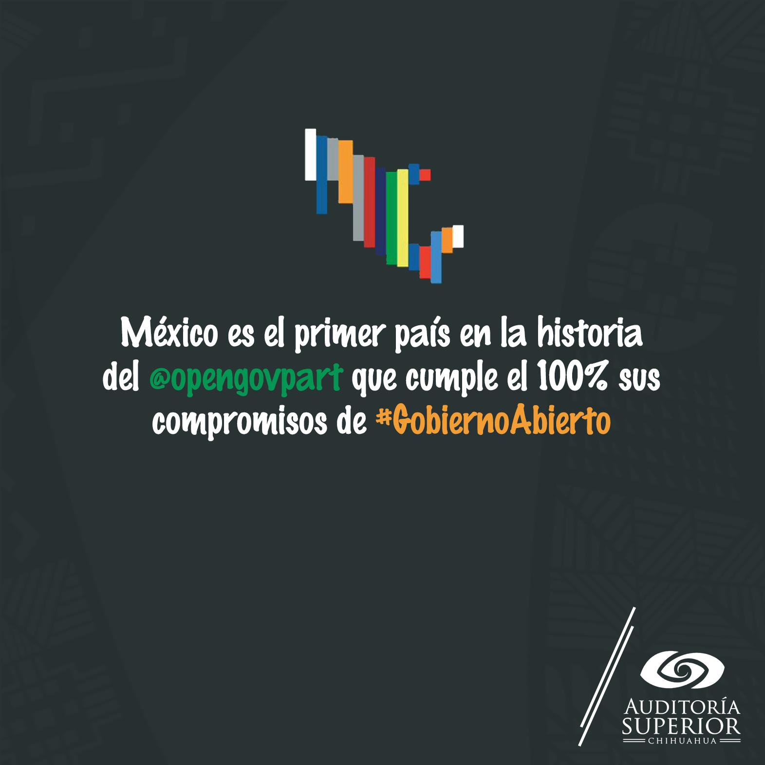 México está comprometido con el #GobiernoAbierto. En la @AuditoríaChih trabajamos para fortalecer la democracia. https://t.co/i1N1Sza8Ii