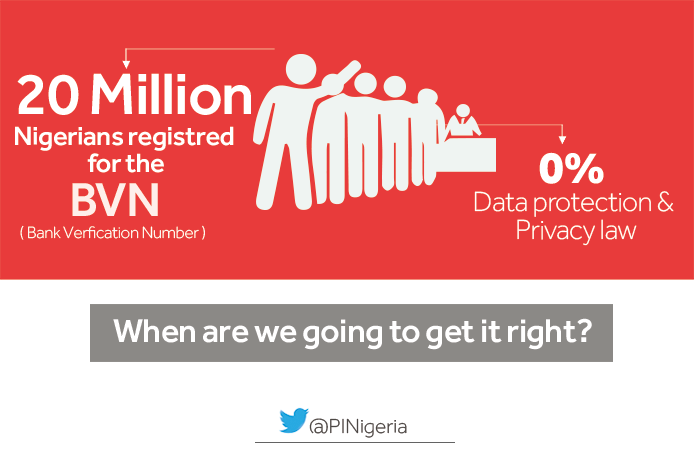Join us in calling for the suspension of the #BVN exercise by Central Bank Of Nigeria #DataProtection #DataPrivacy https://t.co/4OBu0hAWhf
