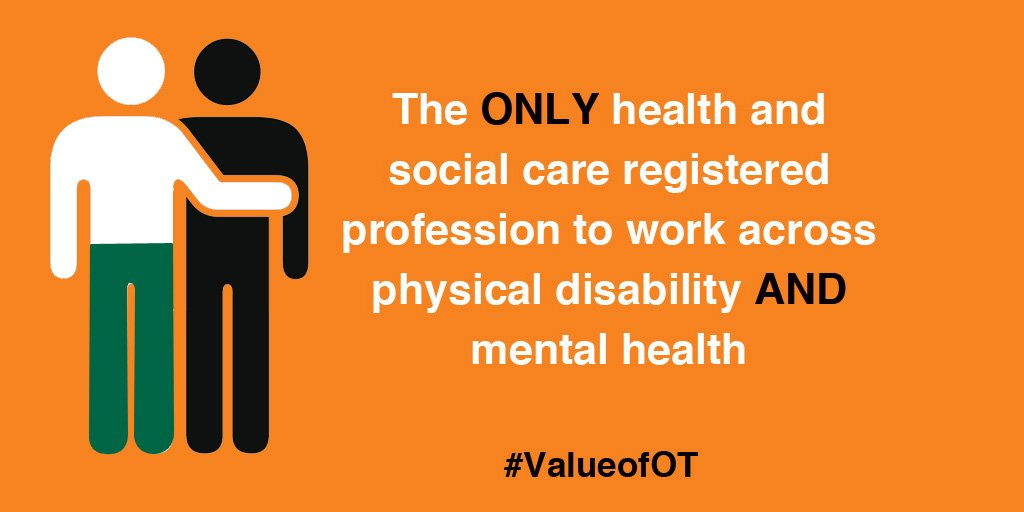 What does occupational therapy do? It keeps people out of hospital and reduces pressure on primary care #ValueofOT https://t.co/cMTKJMwiNL