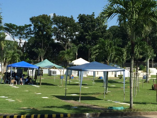 Amazing Situation At Holy Gardens Evergreen Memorial Park In San Pascual, Batangas.  (Photos Via
