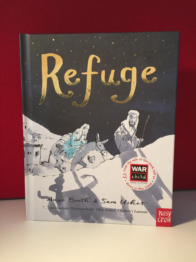 Here is a picture of #REFUGE, the charity book for this Xmas in aid of @warchilduk: https://t.co/6xqDh535po