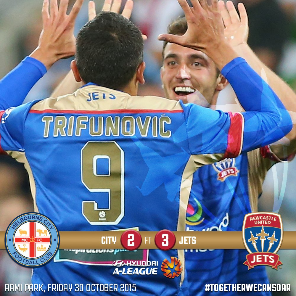 [FULL TIME] 3-2 VICTORY! WHAT A COMEBACK! WHAT A TIME TO BE A JETS SUPPORTER! #MCYvNEW #TogetherWeCanSoar https://t.co/9tgeqMl3vD