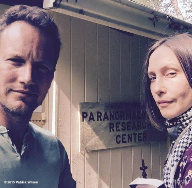 Filming The Conjuring 2!! :D can't wait to June!! <3 :') @patrickwilson73  @VeraFarmiga @TheConjuring https://t.co/s5DvIANsf6