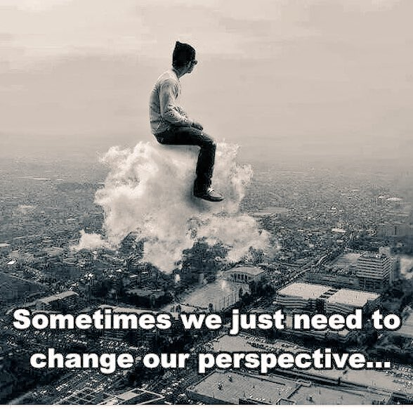 Never underestimate the power of perspective... It can change everything!  #perspective #priorities https://t.co/aU95y0t2bb