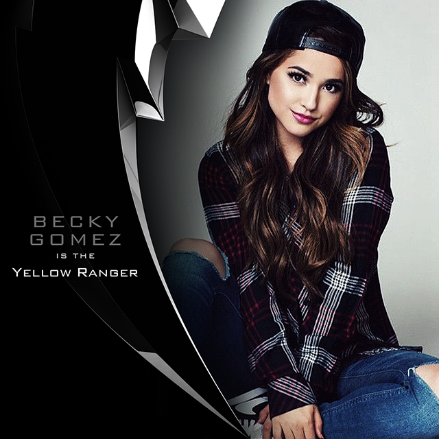 It's morphin time! @iambeckyg is suiting up as the #YellowRanger in the #PowerRangers Movie! https://t.co/yFLUn9ORhN https://t.co/WM8Y9HDqFj