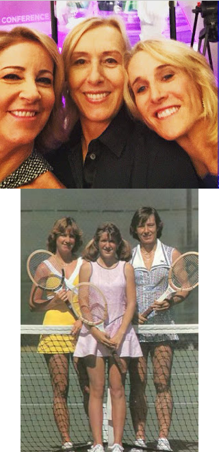 It's like the 1981 Toyota Series Championships all over again! @thetracyaustin @Martina @ChrissieEvert https://t.co/47wFSirFiH