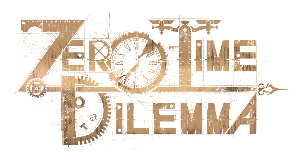 1st, the OFFICIAL name! You might already know but we debated it for months: Zero Time Dilemma. Oh, here's the logo! https://t.co/9pSuTosQ53