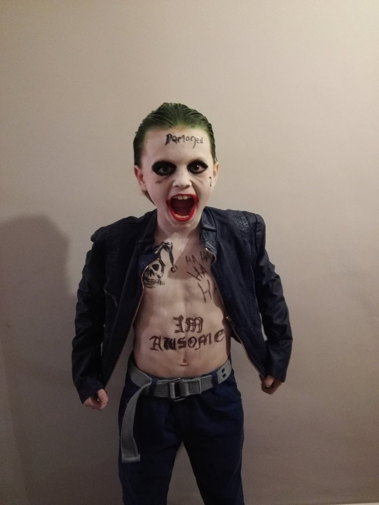 RT @sianidyer: @JaredLeto my son's choice of Halloween costume which won him the competition. https://t.co/QbFO0sZVIA