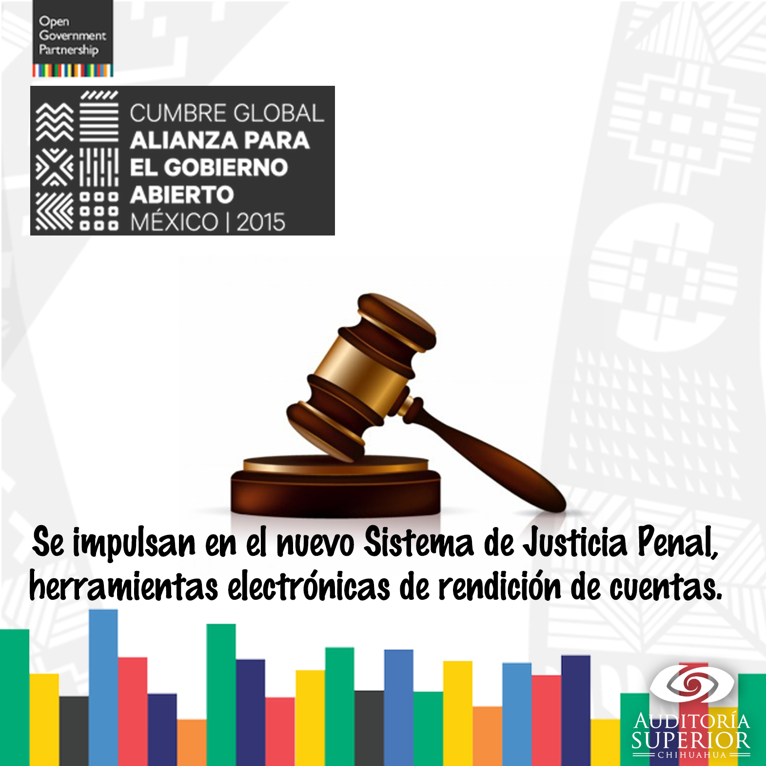 Proyectos #GobiernoAbierto 2016-2018:  Se transparenten los procesos del Nuevo Sistema de Justicia Penal. https://t.co/cLkwwvYS4V