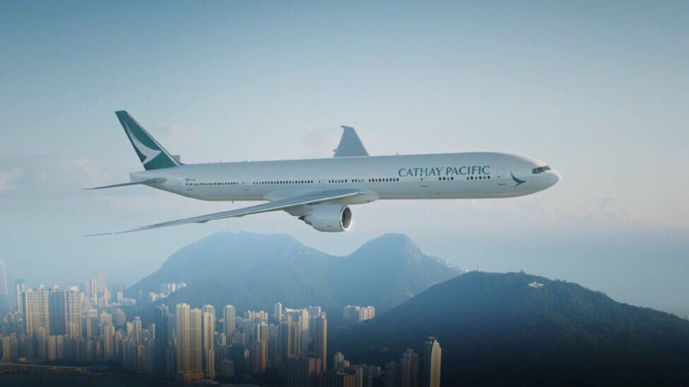 New Cathay Pacific livery https://t.co/JInuzQ7hoL