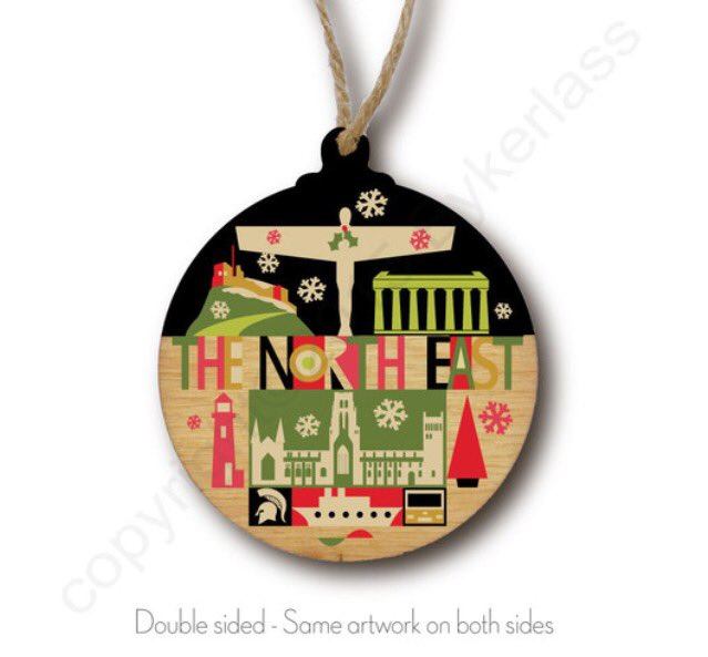 COUNTDOWN to @Living_North Gosforth Park next week. We r launching our fab handmade #NorthEast #christmas baubles! https://t.co/YpOECzFYWX