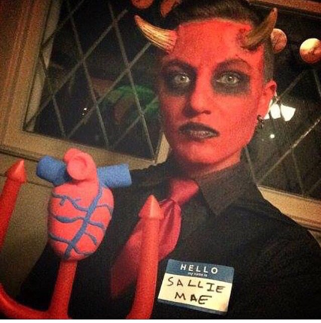 Sallie Mae Costume