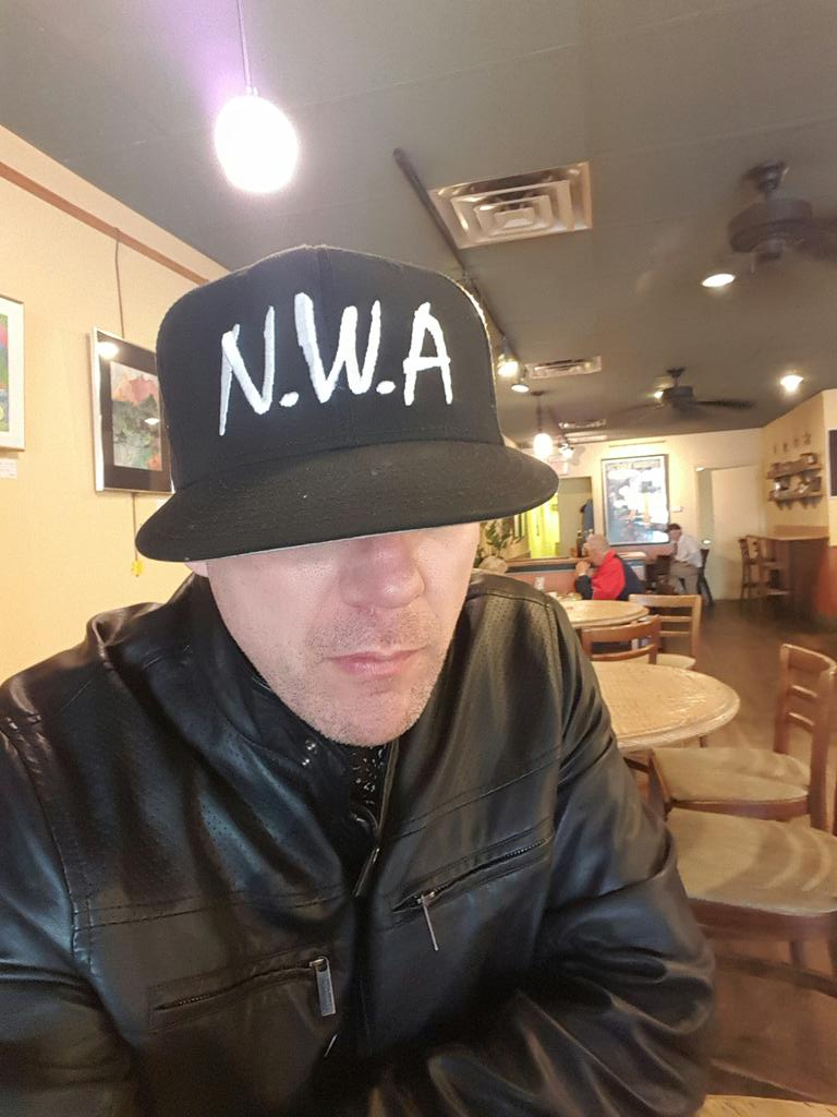 HAPPY HALLOWEEN #NWA YOU SCARED THE SHIT OUT EVERYBODY @drdre @icecube @mcrencpt @DjYellaNWA #EazyE @ComptonMovie https://t.co/cpyW60NY8s