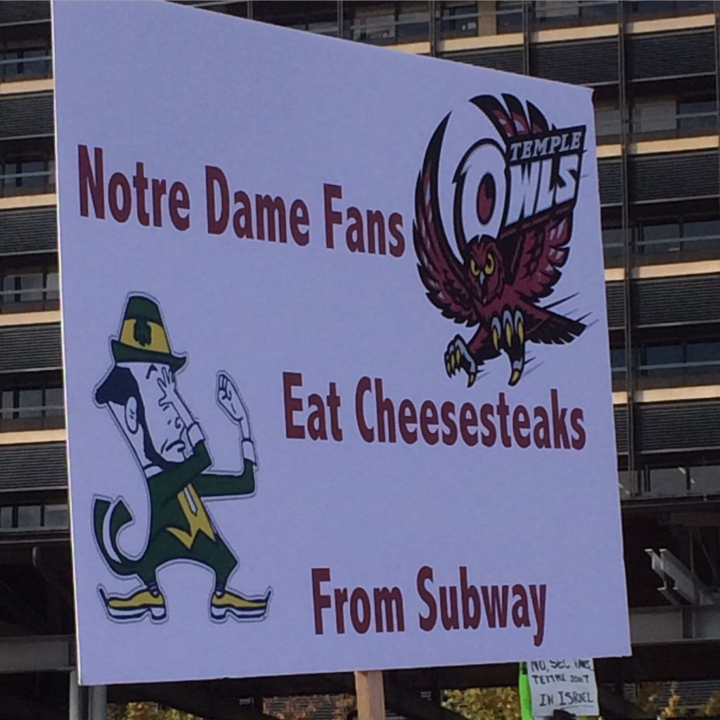 Well said!!! @temple_fb @templeuniv @tonylukes #temple https://t.co/cbMeoYxxWo