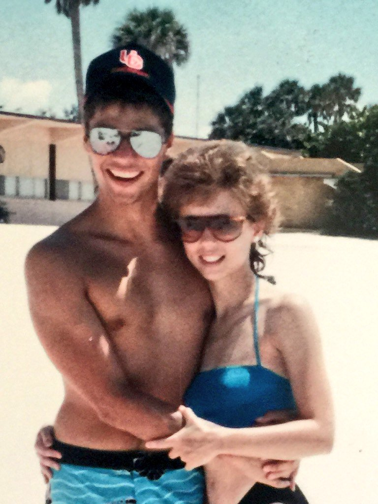 Happy birthday to my amazing mother! Thanks for always being the best! Here's a picture of my parents in the 80's �� https://t.co/Z9JV1QDpEa