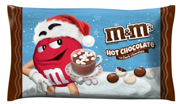 Mars launches three new M&Ms flavors based on holiday beverages https://t.co/AWKh6i2lya https://t.co/e0CSGcfZD8