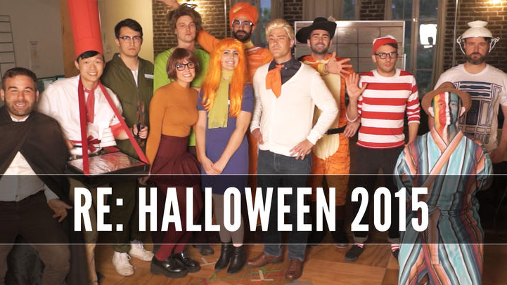 We dressed up @hitRECord & we're always gonna dress up cause it's my favorite day https://t.co/epRknVpNIp #Halloween https://t.co/a7EkLRng5j