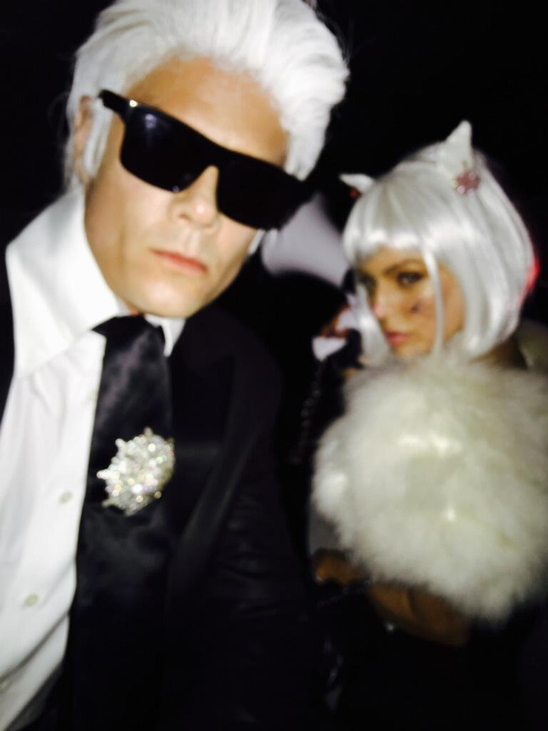 RT @joshduhamel: Happy Halloween! Love, Karl & Choupette https://t.co/OQDIWetmvE