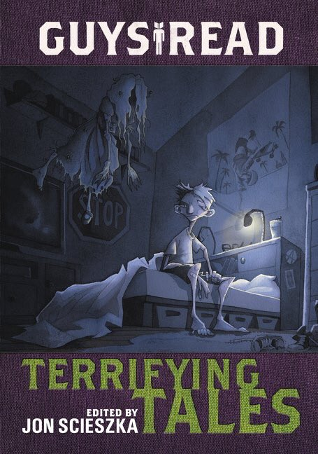 One last copy of GUYS READ:TERRIFYING TALES left in our #Halloween #giveaway! RT to enter to win tonight! #mglit https://t.co/2R3ogno0tq