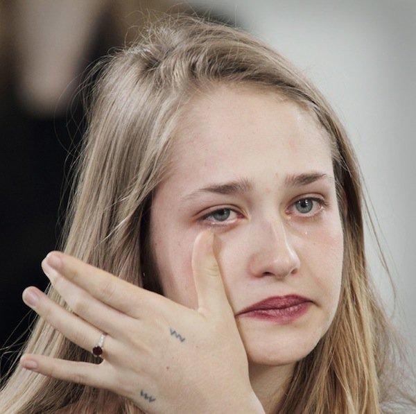 Emotional tears contain leucine enkephalin, a natural painkiller. https://t.co/il5RWsZy8Y