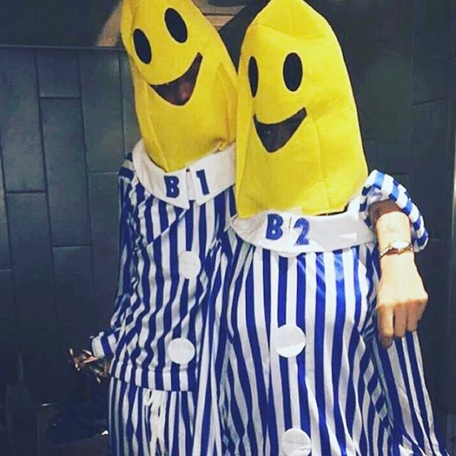 Bananas in pyjamas happy halloween!! @KyleDevolle ???????? https://t.co/tEtoQPdV2v