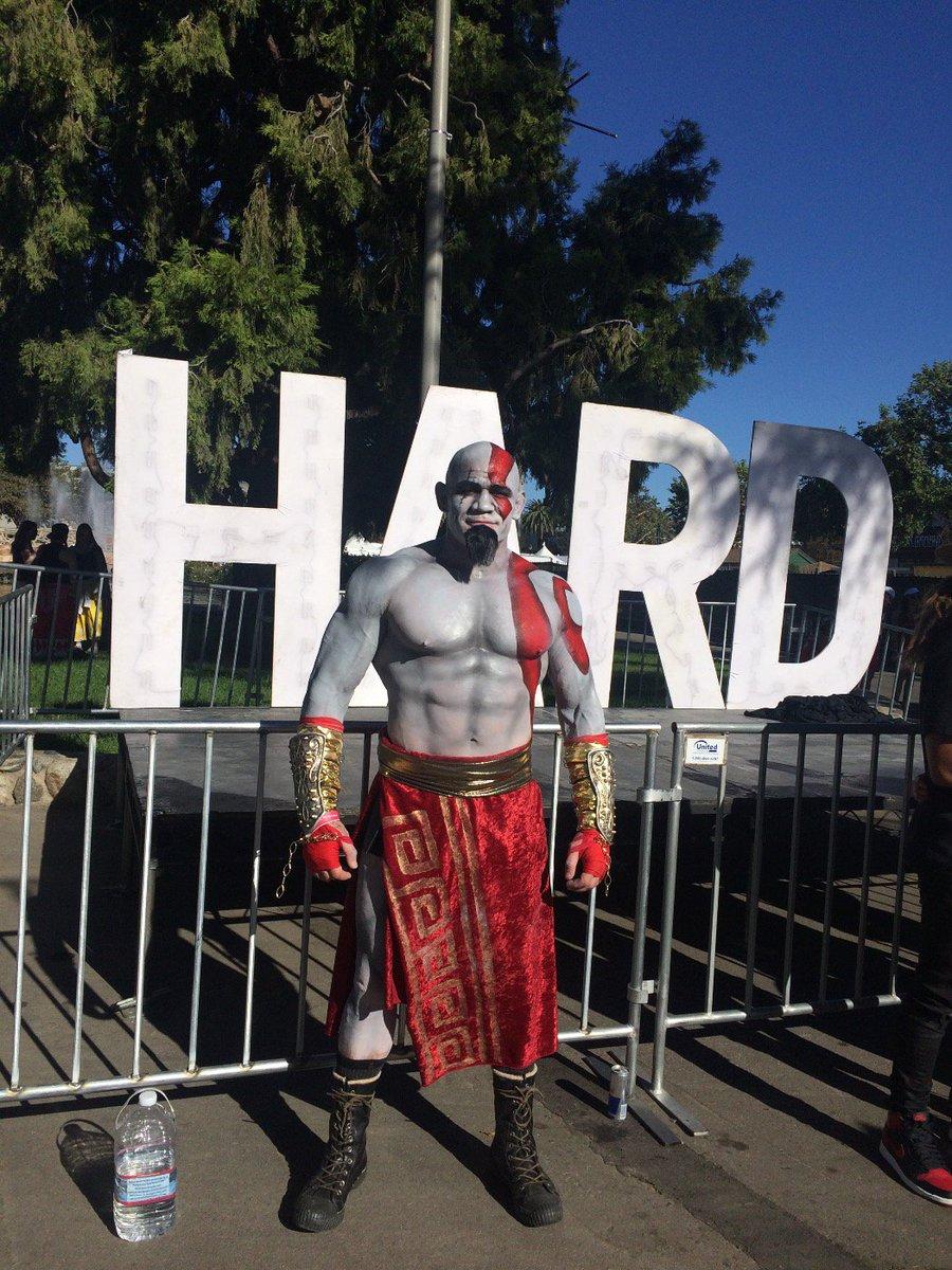 Kratos @hardfest! https://t.co/7IOg0Ox1ji