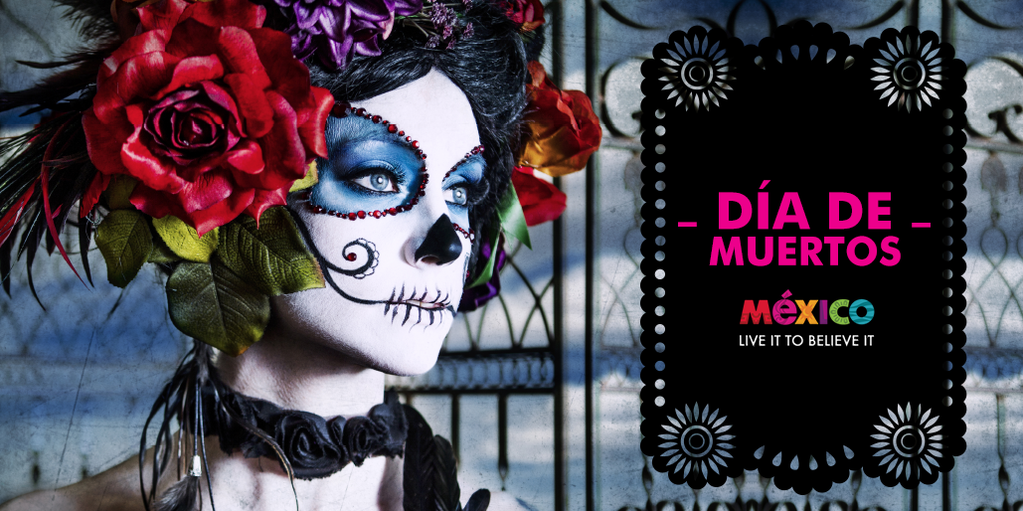 The day when the spirit of those who have passed comes down from the heavens is coming. Say hello. #DíadeMuertos https://t.co/hWB0NgITjA