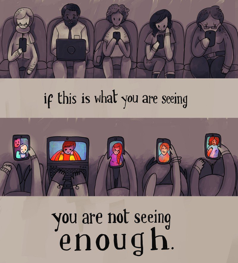 """This is great >> """"Stop saying technology causes social isolation!"""" https://t.co/alePiQRmtn https://t.co/bW2jxgBZet"""