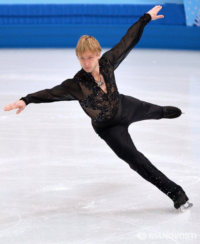 Плющенко: на тренировках исполняю аксель в 3,5 оборота, четверной тулуп htt