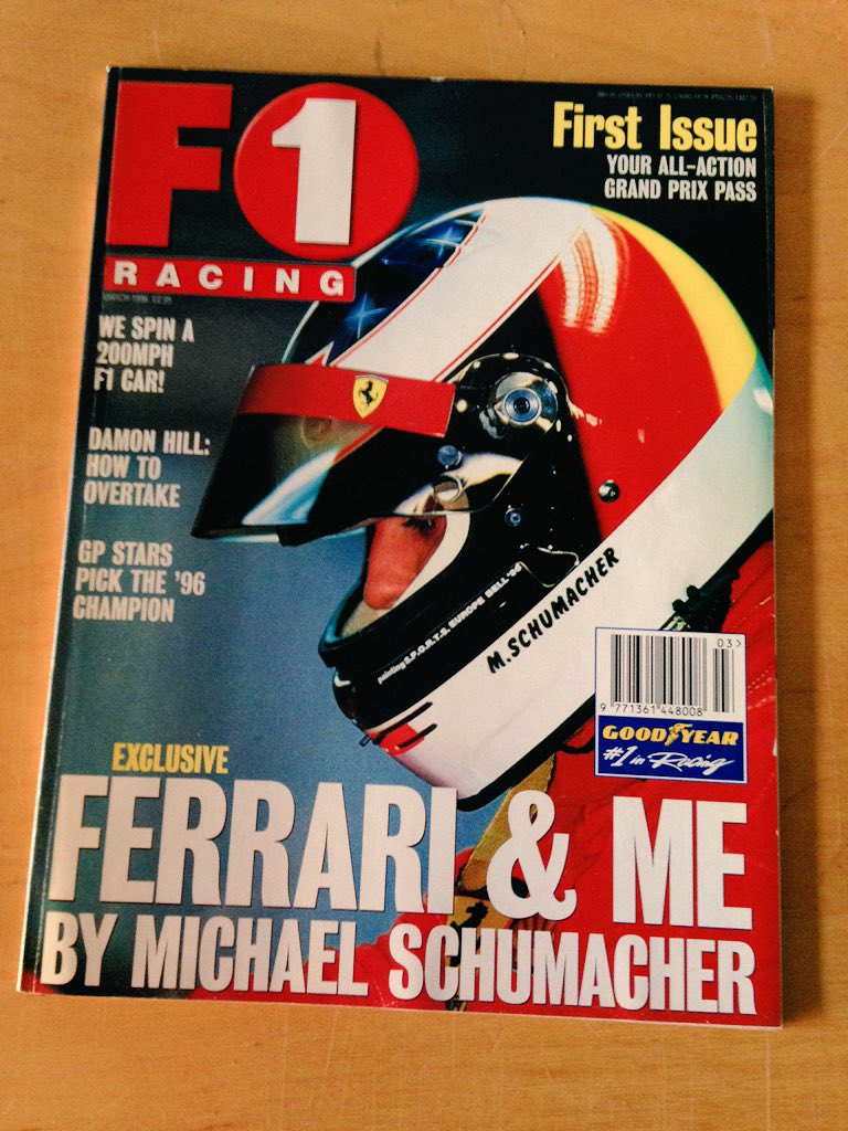 I have every @F1Racing_mag since the start. On sale soon... https://t.co/Le2226PCiI