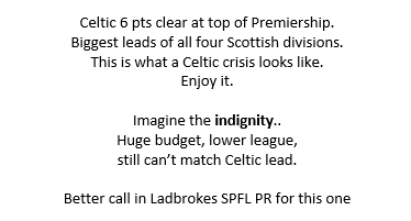 Q. which team has the biggest league lead in all 4 SPFL divisions? https://t.co/zAvFa7Gp4U