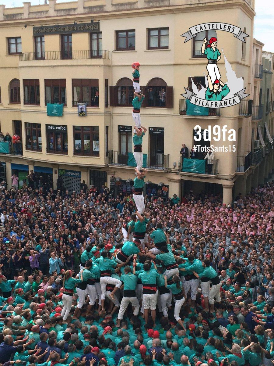 Amb 3d9fa, td8sf, 3d10fm i pd8fm, tot descarregat, MILLOR ACTUACIÓ DE LA HISTÒRIA! #TotsSants15 #castellers https://t.co/DAfdoQP7rQ