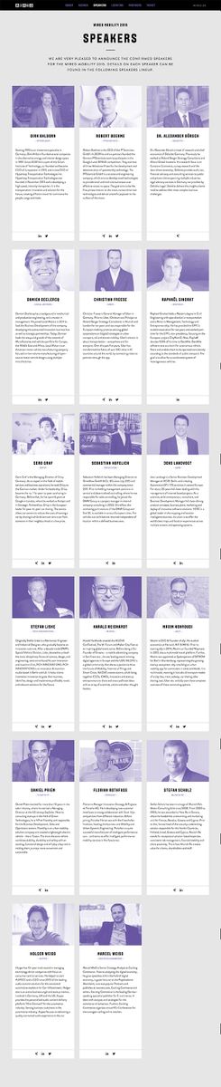Hey @WIRED_Germany—where's the diversity at your Mobility conference? 17 of 17 speakers are white & male. Seriously? https://t.co/z1EQZuW9E0