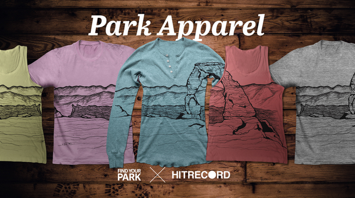 RT @hitRECord  Visual Artists -- join us in making all sorts of #FindYourPark apparel: https://t.co/24AsgARD3u https://t.co/HnakklVKgi