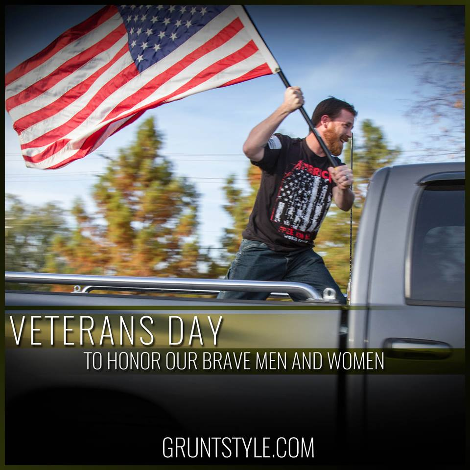 Donating $1 to a veteran charity for very #RT of this from now til Nov 11th! Add your fav vet charity! #VeteransDay https://t.co/wLcAKWAPhM
