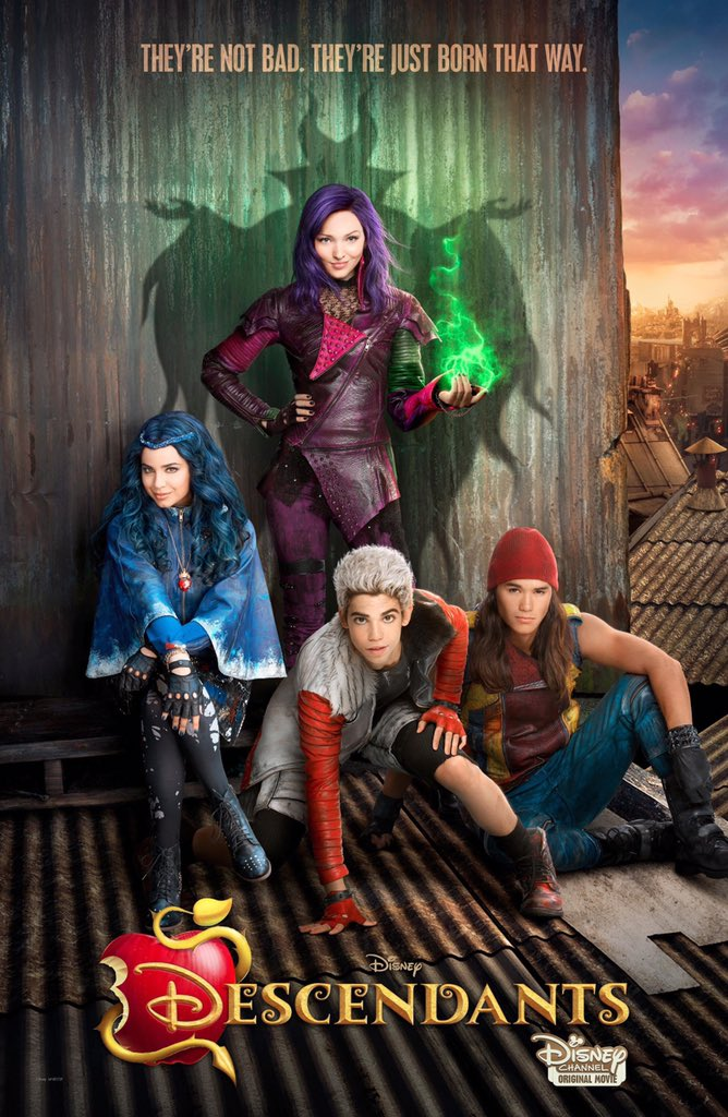 Unashamedly enjoyed Disney's Descendants