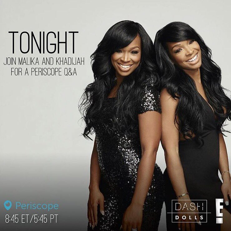 Tonight who's joining my gorgeous girls for their Q and A?!?! #E #DashDolls https://t.co/6LmekFMac3