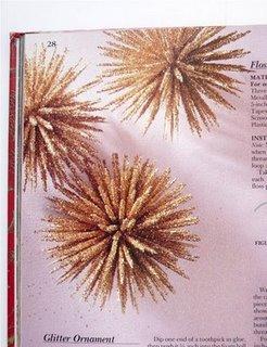 Manualidades navideñas: cómo hacer una estrella con purpurina