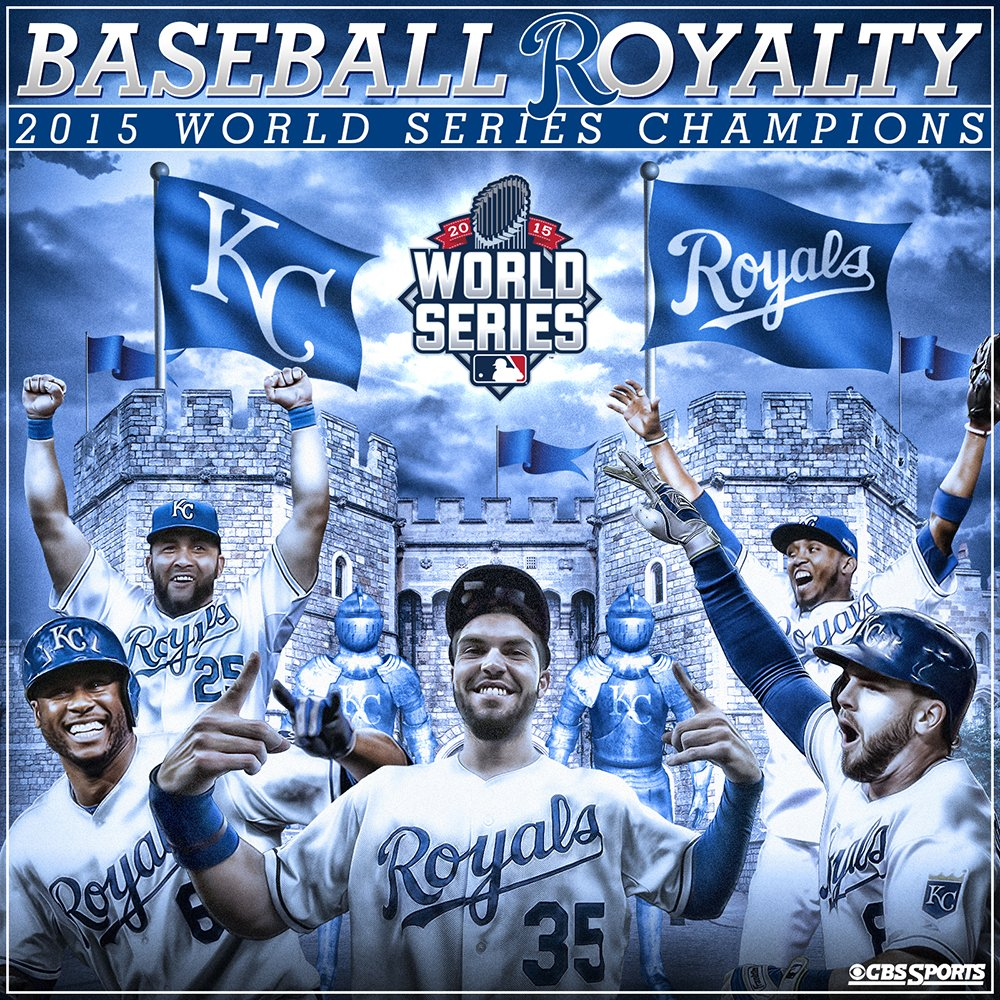 Let the coronation begin!   The @Royals are World Series Champions! https://t.co/fbfwSQdolH