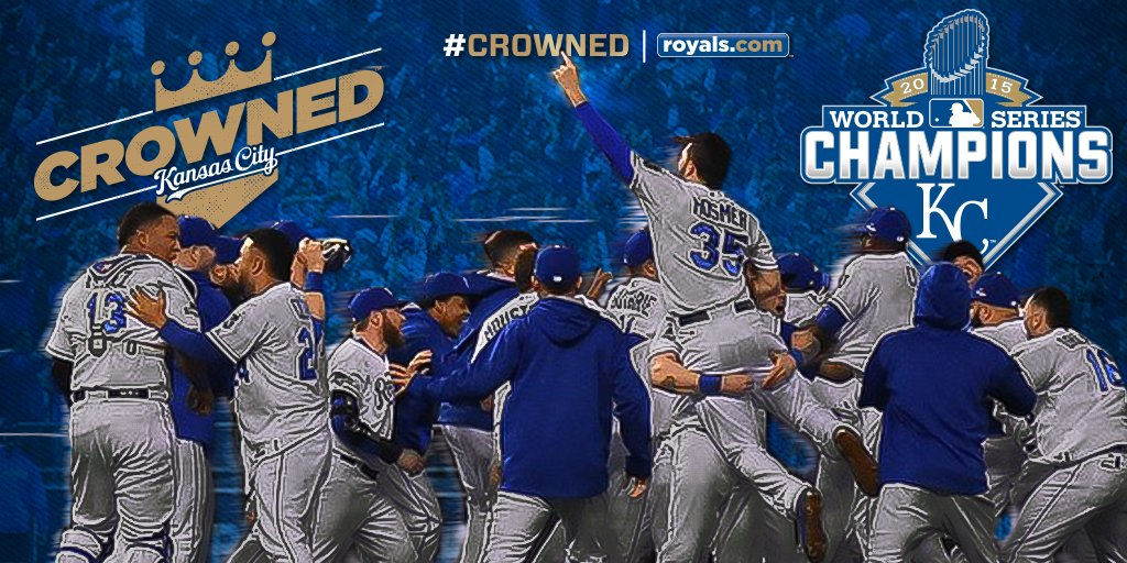 WE'RE #CROWNED!!! Your Kansas City Royals are WORLD CHAMPIONS!!!! https://t.co/Ic8oL4aWu5