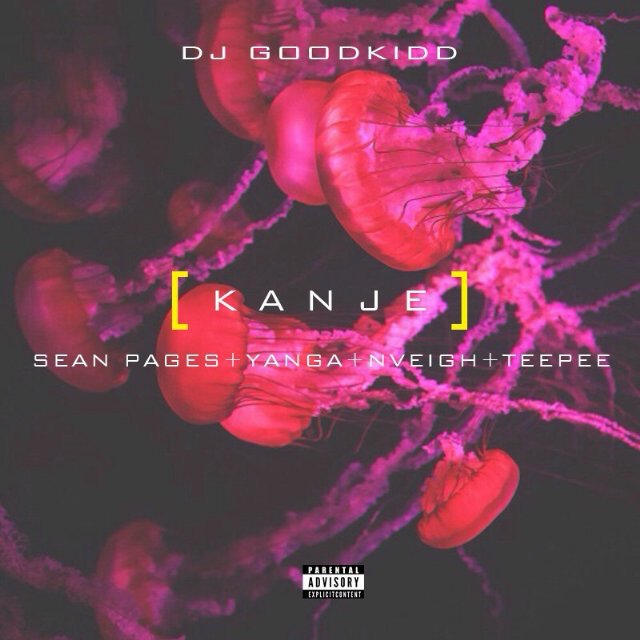 Artwork for the new @Dj_goodkidd single #KANJE ft @SeanPages @ItsYangaChief @teepeetime and myself. Drops 6 Nov https://t.co/IMgmh2InY6