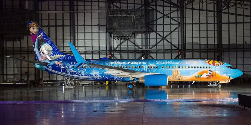 Photo of the Week: @WestJet unveils #Frozen plane https://t.co/aRRcCaNJKD https://t.co/W6PDj5As2B