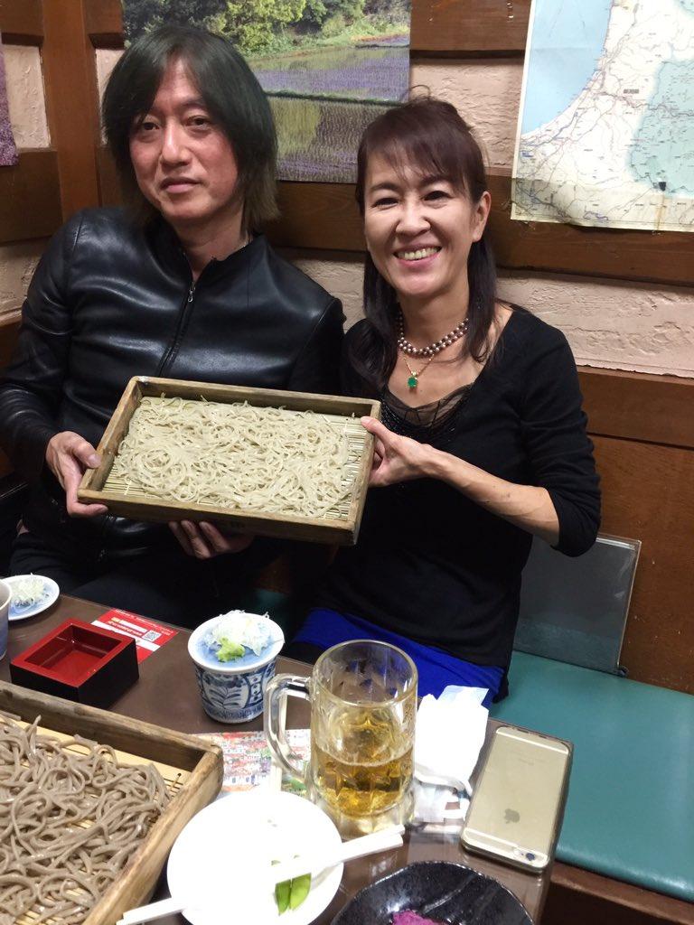 山形県特命観光つや姫大使仲間の音楽プロデューサー小林武史さんご来店ありがとうございます https://t.co/6NmUECSv4A
