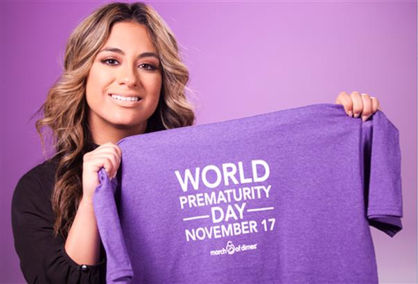 Huge thx to @AllyBrooke for spreading the world about #WorldPrematurityDay tomorrow! https://t.co/01Gaw1paat