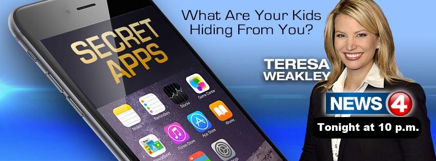 物を隠すアプリ