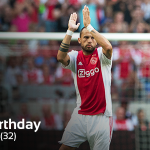 Vandaag is#Ajax-verdediger @JohnHeitinga 32 jaar geworden. Gefeliciteerd John! https://t.co/VZTS0bkRcc