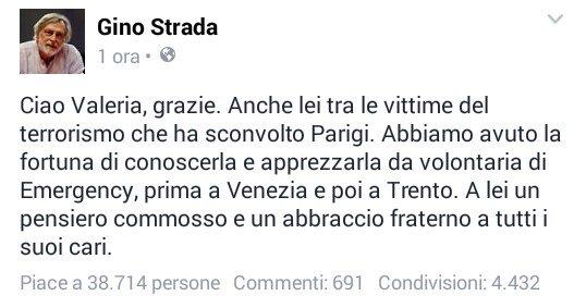 Top story: @Virus1979C: 'Gino Strada ricorda #ValeriaSolesin, volontaria di Eme… https://t.co/IDeCfnAkya, see more https://t.co/jCjpPsnl8p