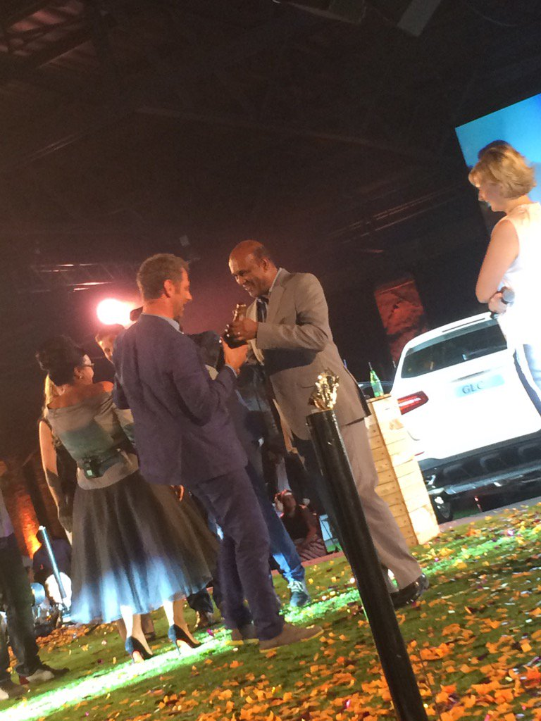 Luke DR picking up Number ONE spot @Eat_Out @MercedesBenz_SA Restaurant Awards #EatOutAwards https://t.co/VKxNV3bbiN